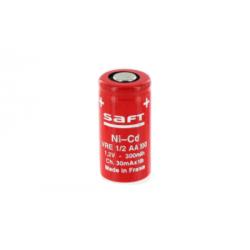 Pile Ni-CD SAFT 1/2 AA 1.2v...